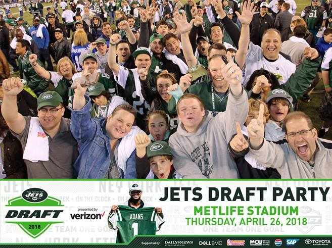 NY Jets Draft Party