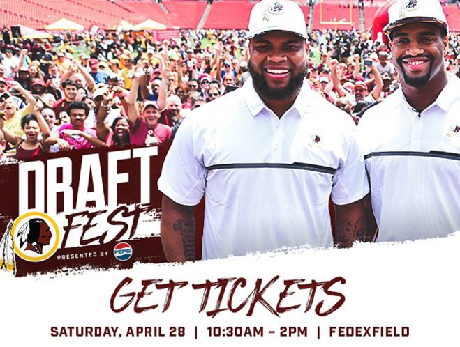 Redskins Draft Fest